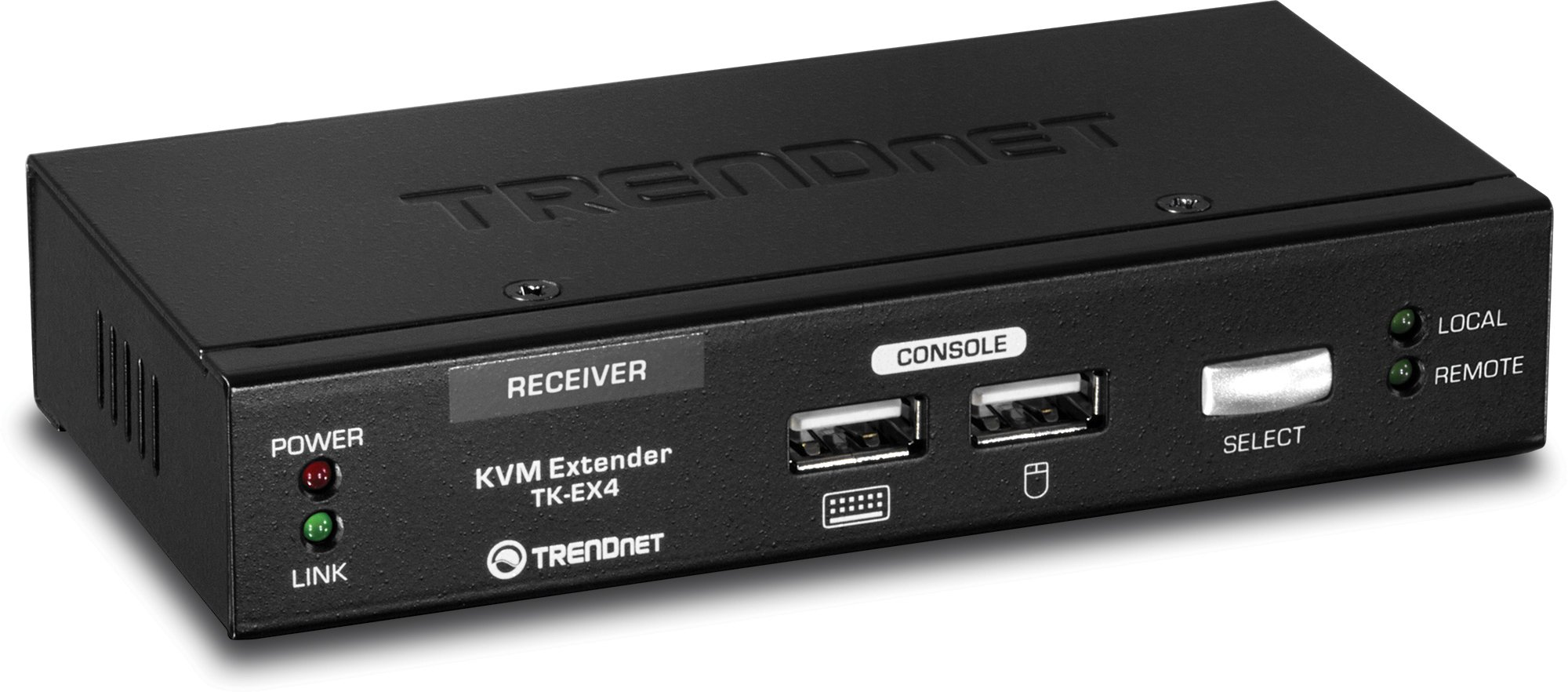 TRENDnet 1080P KVM Console Extension Kit up to 100 Meters (328 ft.), TK-EX4 by TRENDnet