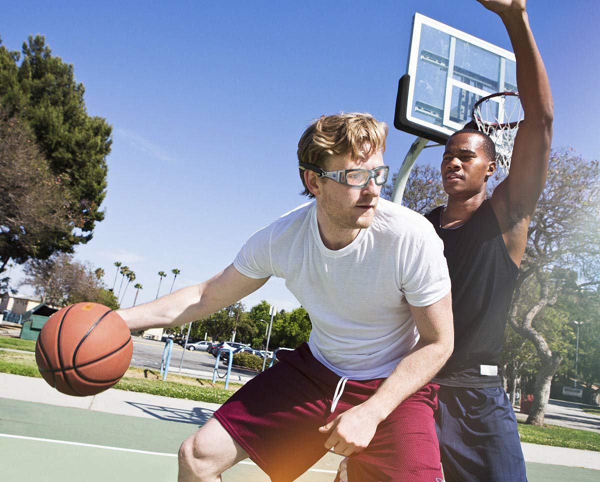 dc551e560b7 Panlees Goggles Sports Glasses Adjustable Elastic Wrap Eyewear For Soccer  Basketball Tennis Lover  (Blue
