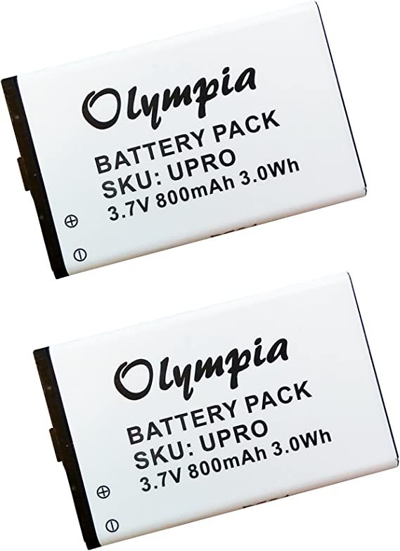 750mAh Battery Replacement for Callaway uPro 30200 uPro Go GPS305CA P//N 1008000134