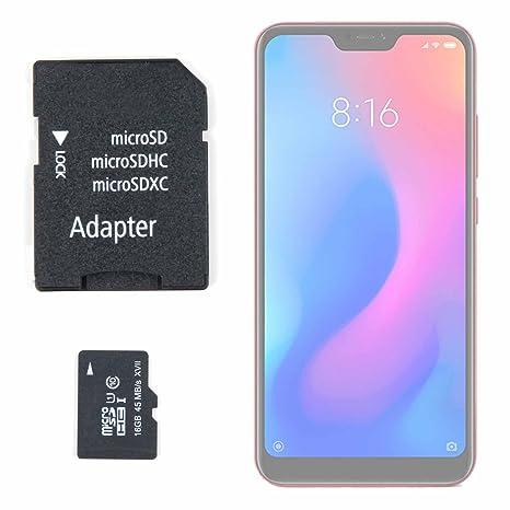 DURAGADGET Tarjeta de Memoria Micro SD HC 16 GB + Adaptador ...