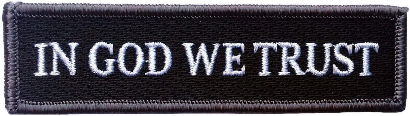 Titan One Europe Hook Fastener In God We Trust Tactical Morale Operator Patch