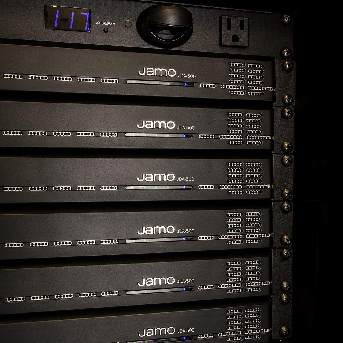 Jamo JL4810 with JDA500 Amplifier - 8 Outdoor Landscape Speaker System on
