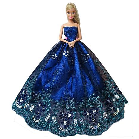 c09489ac7fd4 Beetest Splendida Partito Vestito Matrimonio Abiti per Barbie Doll   Moda  Barbie Bambole Nozze Festa Sposa