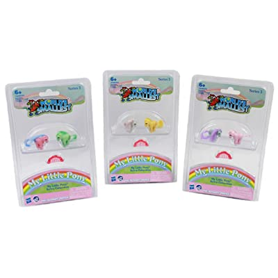 Worlds Smallest My Little Pony Retro Collection Series 1 Complete Set - Bundle: Toys & Games