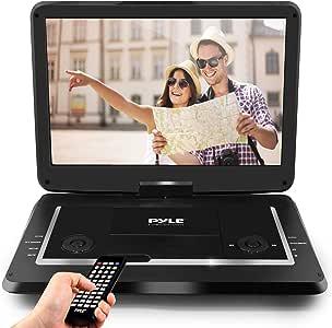 Pyle PDV156BK Hi-Res HD Display DVD Player