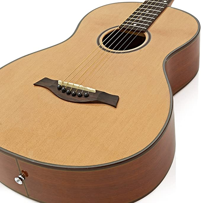 Guitarra Parlour de Gear4music Natural: Amazon.es: Instrumentos ...