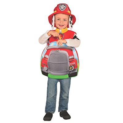 Rubie's Paw Patrol 3D Marshall Candy Catcher Child Costume, Toddler: Toys & Games