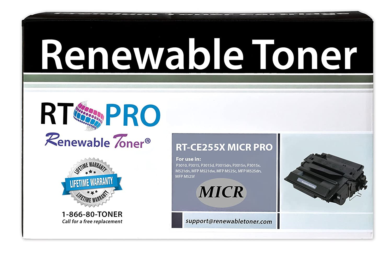 2 pk CE255X MICR Toner Cartridge for HP P3015dn P3015n P3015d Printer BEST DEAL!
