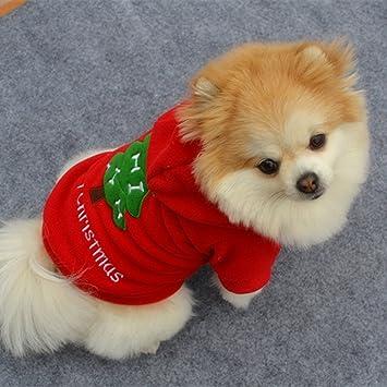 Disfraz de Papá Noel para mascota, cachorro, perro, polar ...