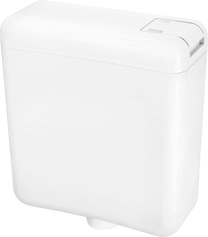 Cornat Faro SPK1000 - Cisterna (6/9 L, función de descarga y freno de la descarga), color blanco