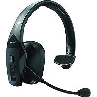 BlueParrott B550-XT Voice Controlled 96% Noise Cancelling Wireless Bluetooth Headset, 24 Hours Talk Time, Black