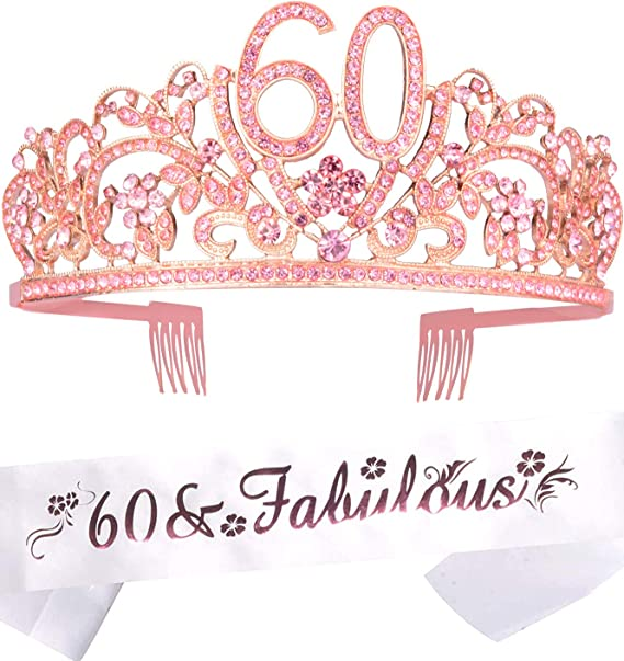 60th Birthday Gifts for Women,  60 year old Women gift Ideas