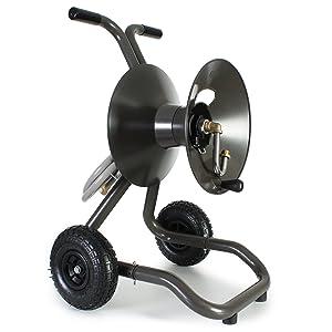 Eley / Rapid Reel Two Wheel Garden Hose Reel Cart Model #1043