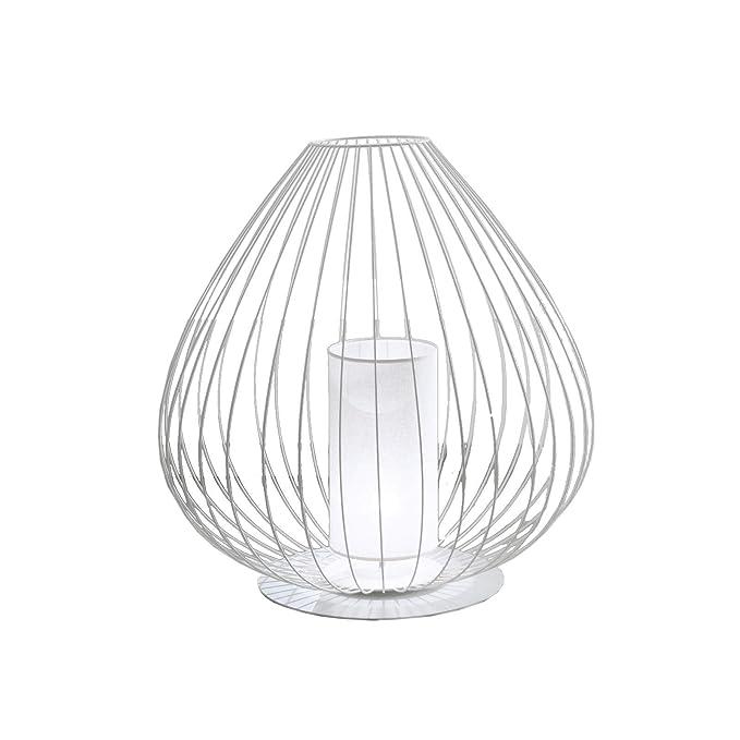 Cell® Lámpara de mesa de plástico blanco, hecha a mano en Italia ...