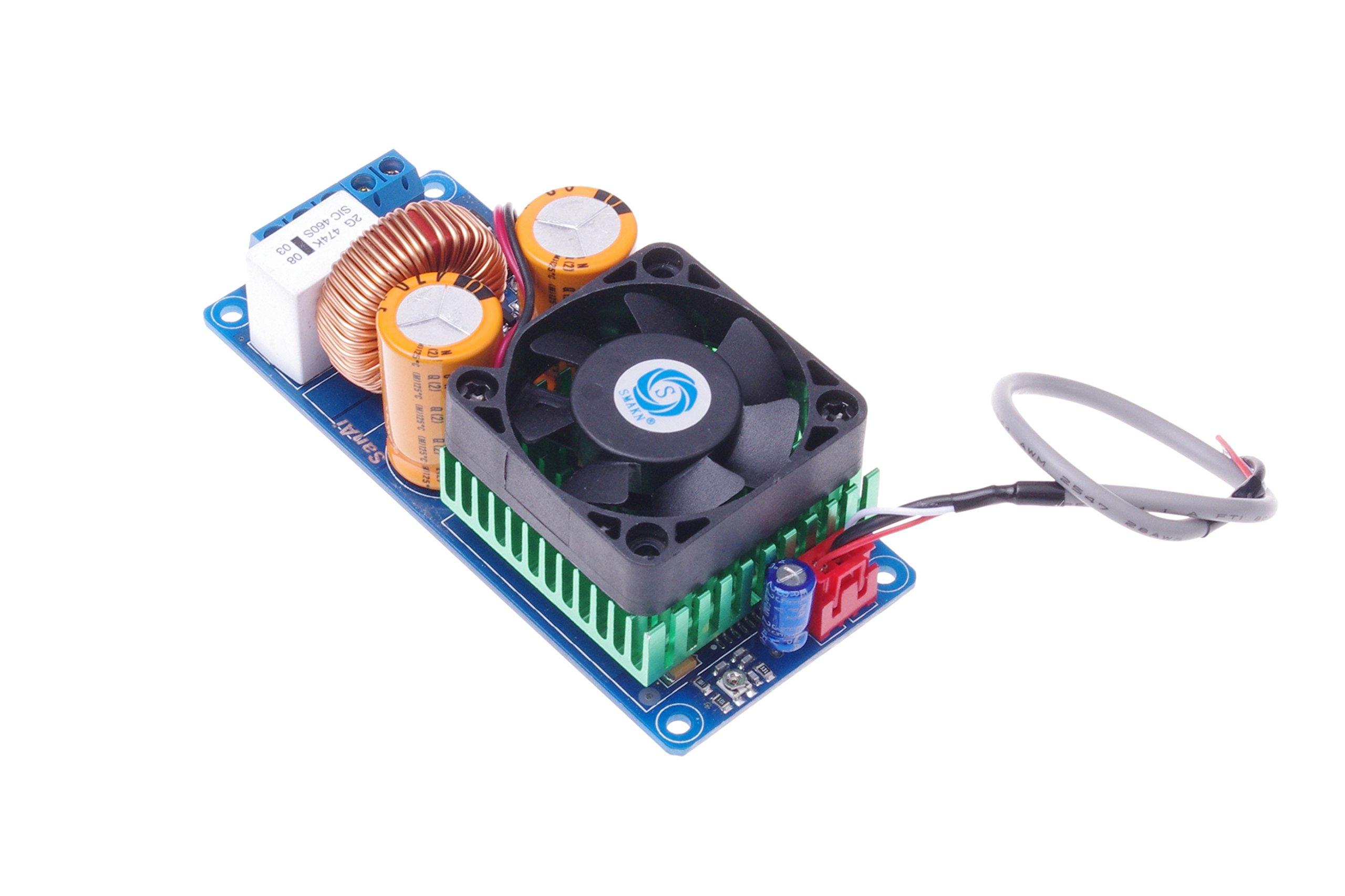 SMAKN IRS2092S 500W Amp Board High Power D-Class HIFI Digital Amplifier Board Single Mono Channel