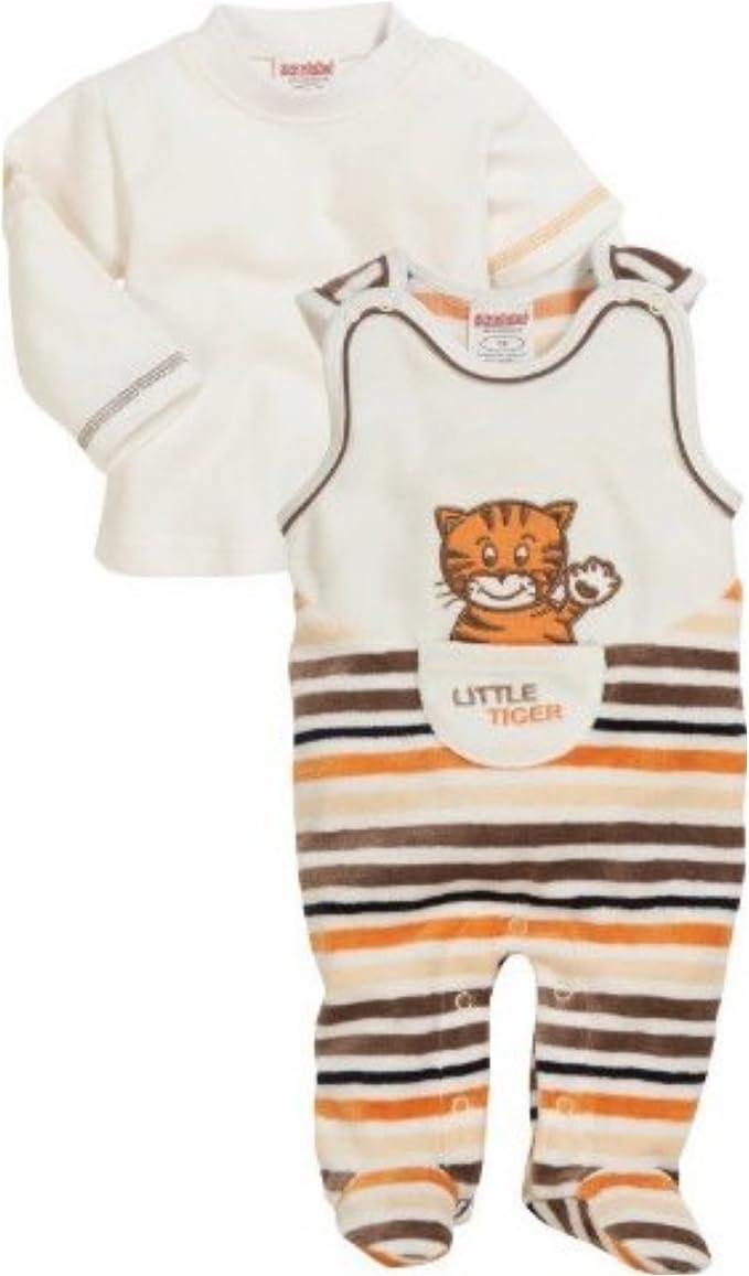 Schnizler Schlafoverall Little Tiger Gr Nicki 50-74 Creme