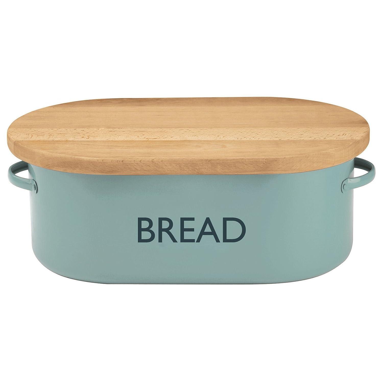 Summer House Blue Bread Bin | Vintage Kitchen Bread Bin Typhoon 1400.655