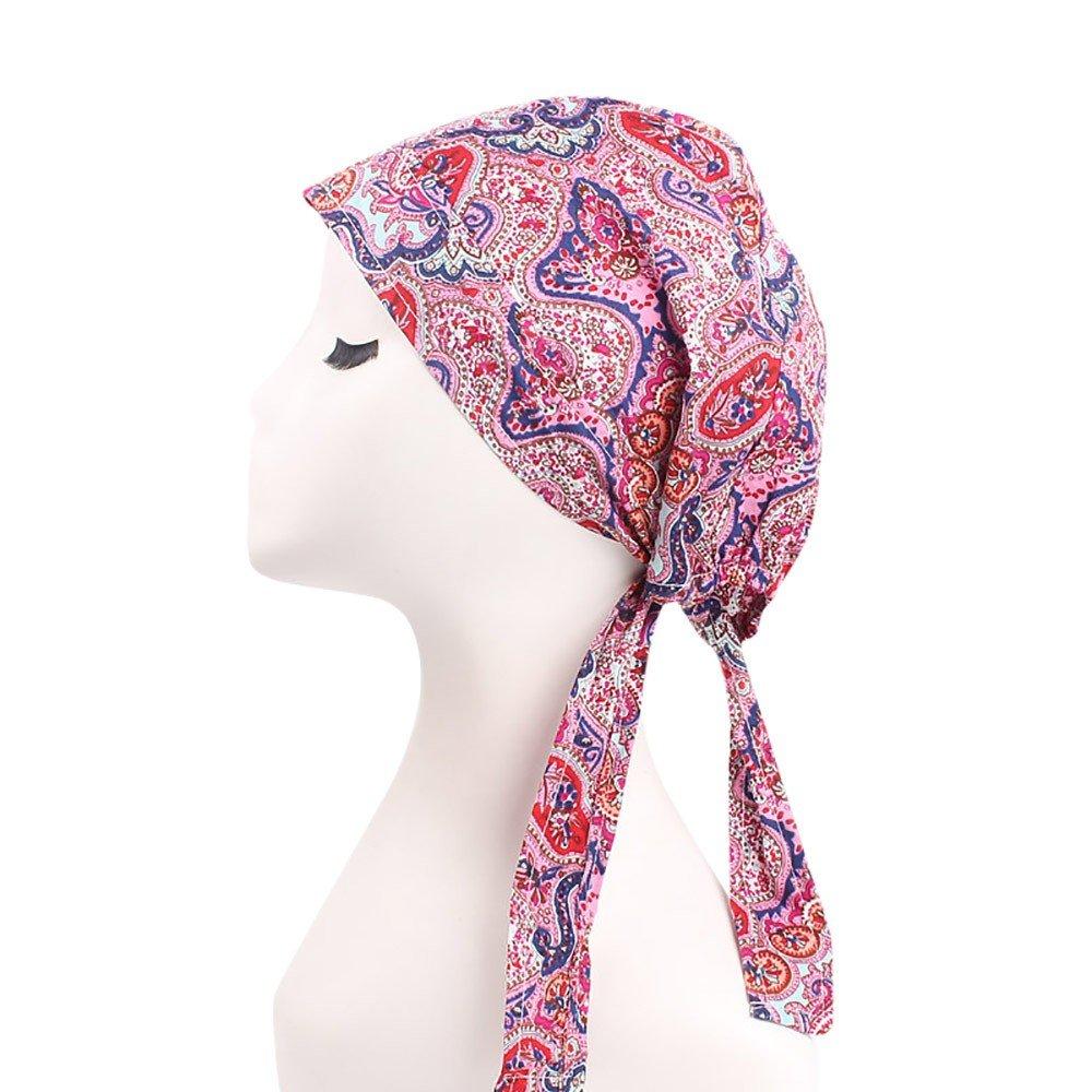 Elegantes Sombreros y Gorras de Mujer Musulmana Flores Tapa del ...