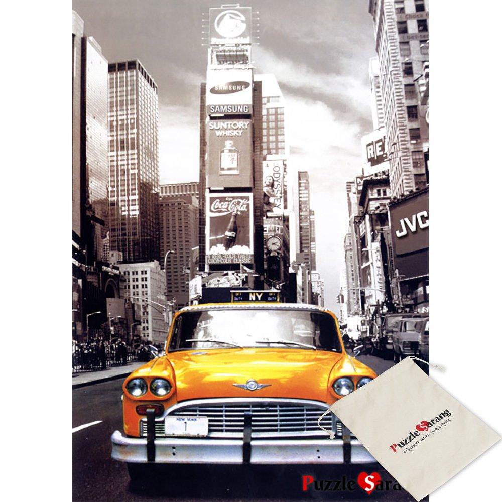 Puzzle Life TimeSquare en Taxi - 1000 Piece Jigsaw Puzzle ...