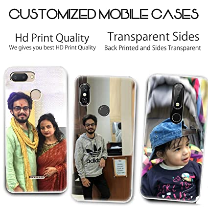 on sale ff6c0 669ac Fashionury Personalized Print Photo or Your Personal Desired Image On  Mobile Back Cover for All Phones
