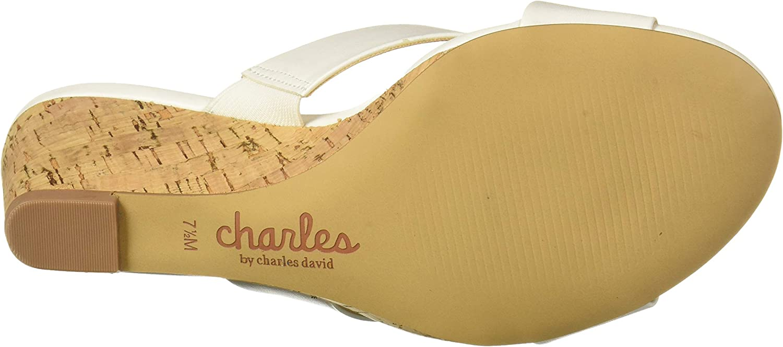 CHARLES BY CHARLES DAVID Womens Grady Wedge Sandal