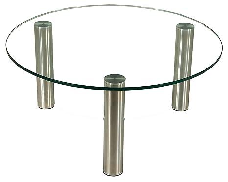 Stegert Design Table Basse Darwin C2p Avec Plateau En Verre