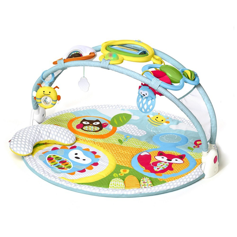 Skip Hop Explore & More Amazing Arch Baby Play Mat Activity Gym, 38'' x 20''h, Multi Colored