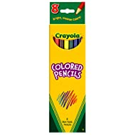 Crayola 8 Ct Colored Pencils