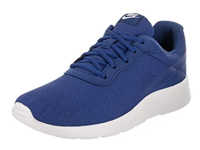 Nike TANJUN RACER Mens Green and Blue Athletic Running Shoes