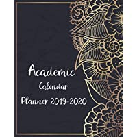 Academic Calendar Planner 2019-2020: Personal Organizer Schedule Agenda Planner Monthly Weekly Calendar with Holidays Daily to Do List August 2019 - July 2020
