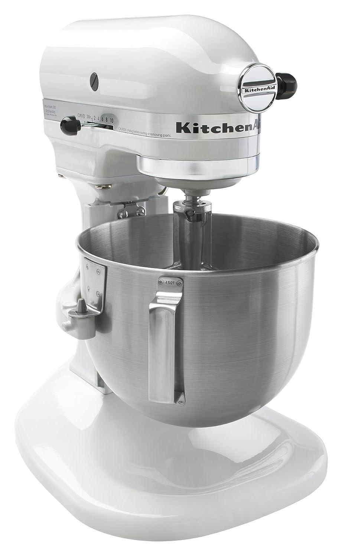 Amazon.com: KitchenAid K4SSWH 4 -1/2 Quart Bowl Lift Stand Mixer ...