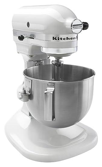 KitchenAid K4SSWH 4  1/2 Quart Bowl Lift Stand Mixer, White