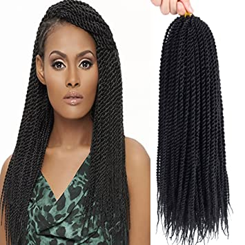 Amazon Com Befunny 8packs 18 Senegalese Twist Crochet Hair Braids