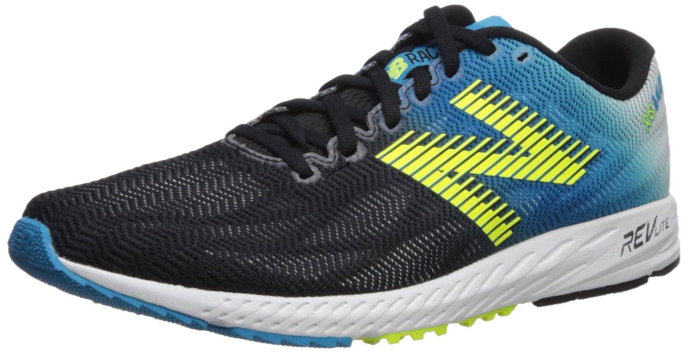 New Balance 1400v6 Racing Running, Zapatillas de Atletismo para Hombre 43 EU|Multicolor (Maldives Blue/Black/Hi-lite By6)