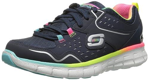 Zapatillas de deporte Sport Synergy Sport Fashion para mujer, Azul marino / Multi, 9 M US: Amazon.es: Zapatos y complementos