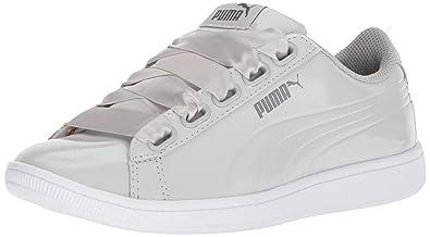PUMA Women s Vikky Ribbon P Sneaker Gray Violet 2568b4b92