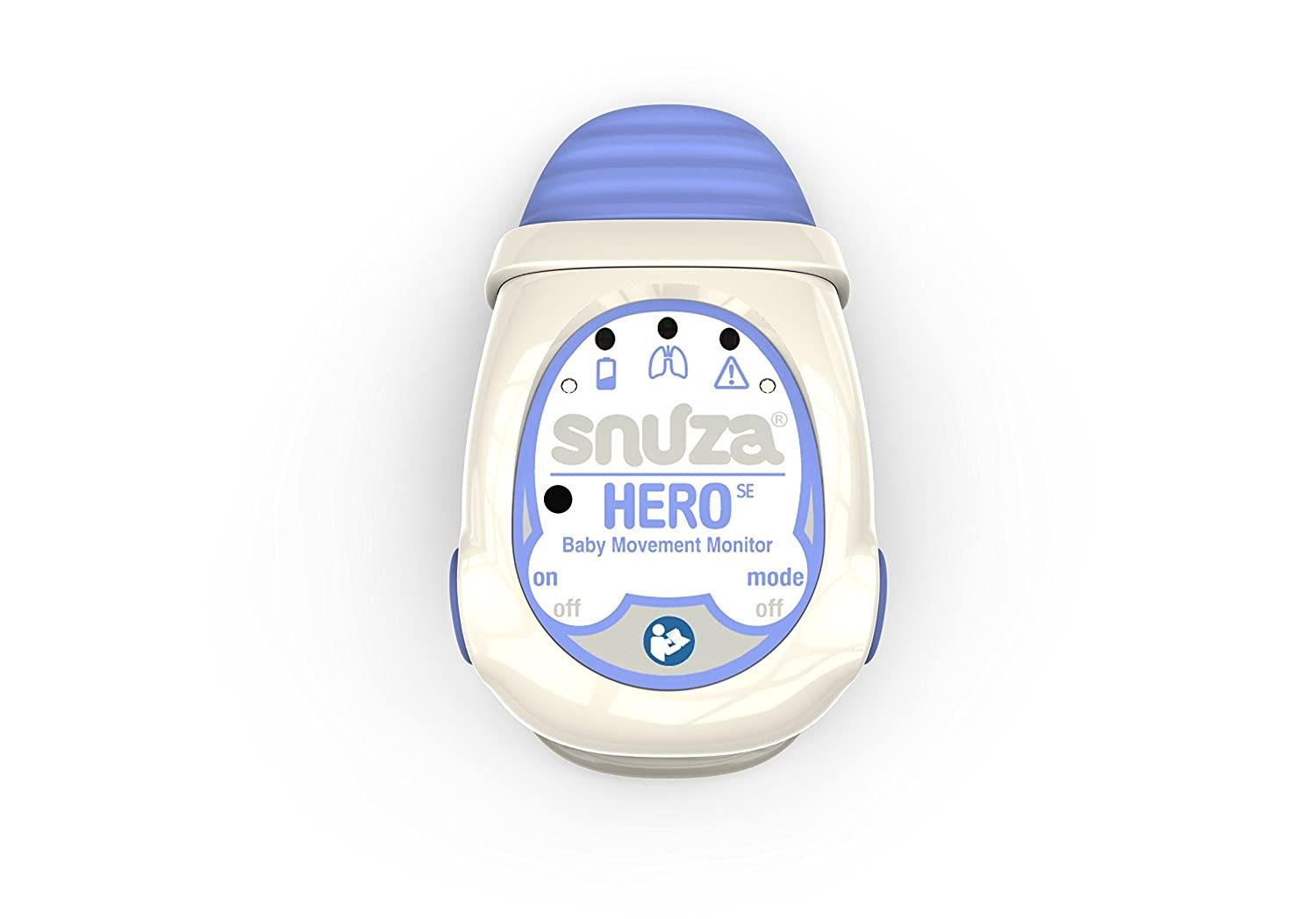Snuza Hero SE Baby Movement Monitor Renewed