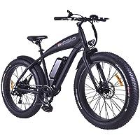 E-Road Fatty Vélo électrique Mixte Adulte, Noir