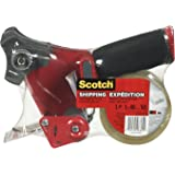 """Scotch Shipping Packing Tape, 1.88"""" x 50m, 1 Roll with Dispenser"""