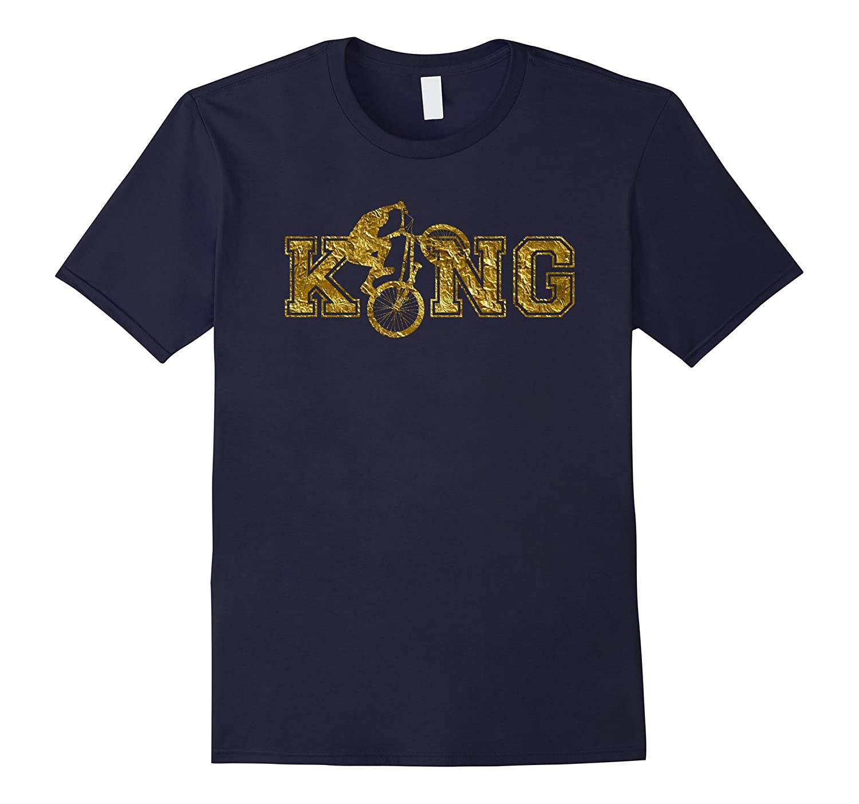 BMX King shirt - perfect gift for BMX enthusiasts-T-Shirt