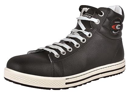 Cofra 35030-001 - Zapatos de seguridad de alto bloque s3 botas viejas glorias del