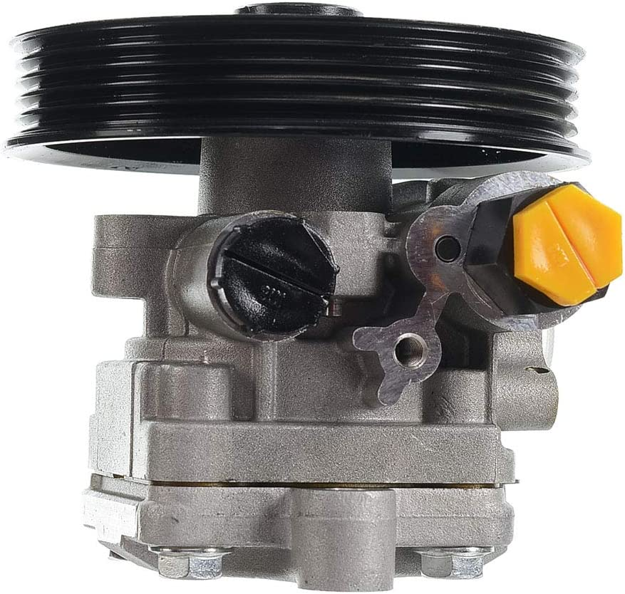 A-Premium Power Steering Pump with Pulley Compatible with Subaru Impreza 2002-2003