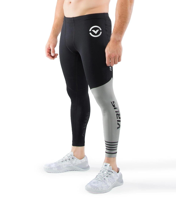 4c51f4692d Amazon.com: VIRUS // PERFORMANCE Men's Stay Cool Compression Pants (RX8):  Clothing