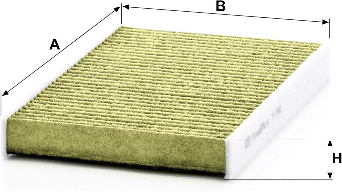 1 filtre intérieur ambiant Homme-Filtre FP 2940 freciousplus convient pour CITROEN