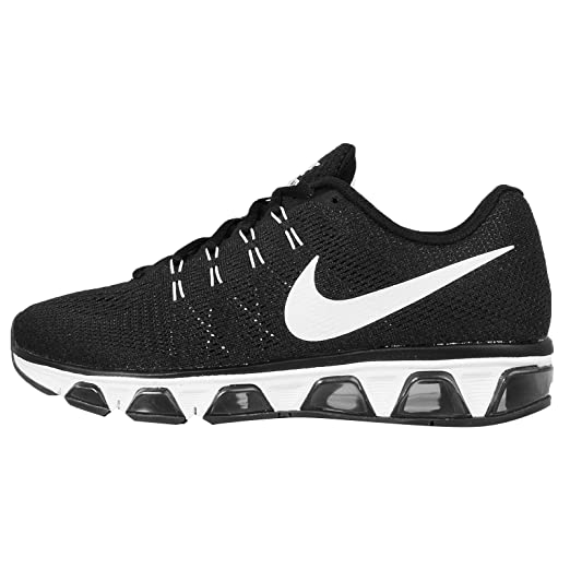 detailed pictures e6ac7 a68d7 Image Unavailable. Image not available for. Color  Nike Mens Air Max  Tailwind 8 Black White Anthrecite Running Shoe