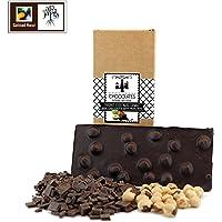 Chocolate negro artesano con avellanas