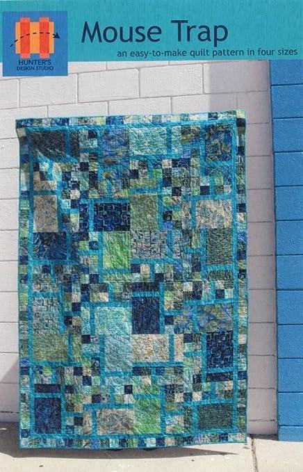 Amazon Mouse Trap Quilt Pattern Fat Quarter Friendly 60 Sizes Magnificent Fat Quarter Quilt Patterns