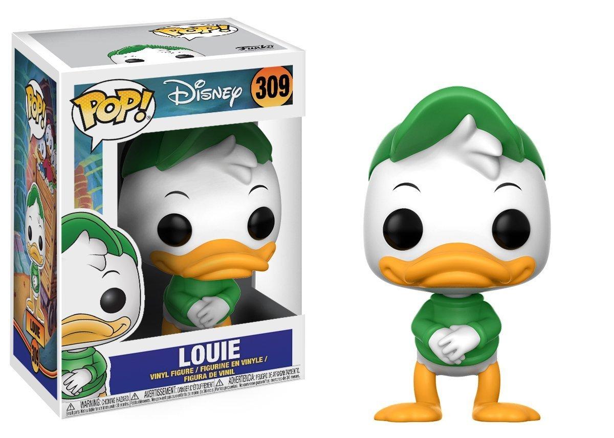 Disney: Duck Tales Louie Vinyl Figure Bundled with Pop Box Protector Case Funko Pop