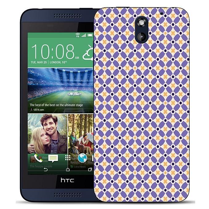 HTC DESIRE 610 Mobile Case Mate con carcasa y lápiz - patrón ...