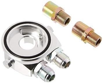 Amazon.com: spec-d Tuning ocla-10sil Silver Aluminum M20 ...